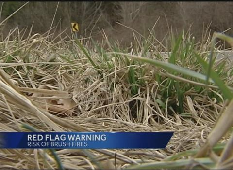 News video: National Weather Services Issues Red Flag Warning for Tri-State